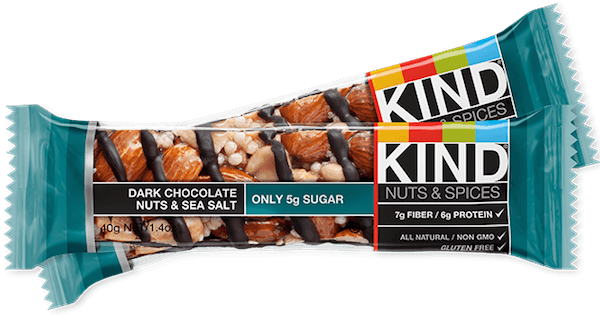 KIND bar good for teeth