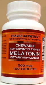 cavities and chewable melatonin tablets