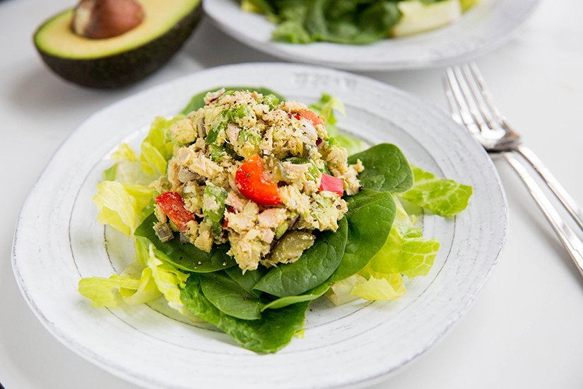 5-minute paleo tuna salad
