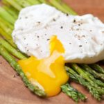 poached pastured eggs