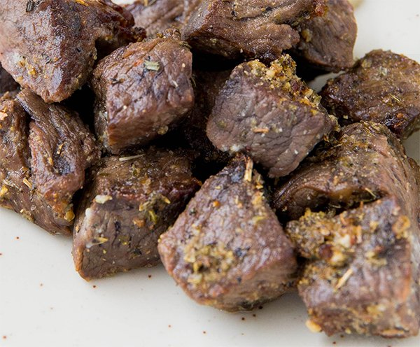 easy paleo marinated steak bites