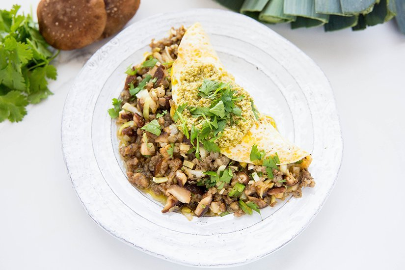 microbiome omelet